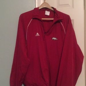 Adidas windbreaker Shirt.  XL